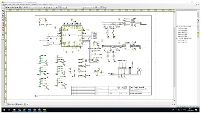 Electronic schematic design